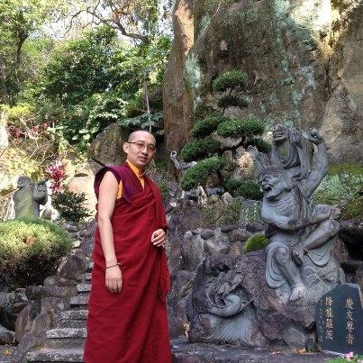 Venerable Khangser Rinpoche
