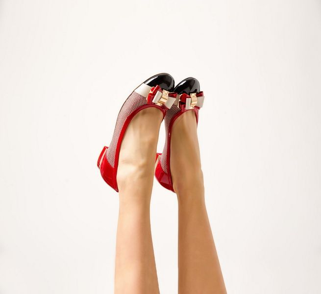 Amazing red ladies shoes