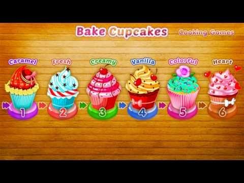 Bake Cupcakes Cooking Games 5 0 10 Youtube Baking Cupcakes