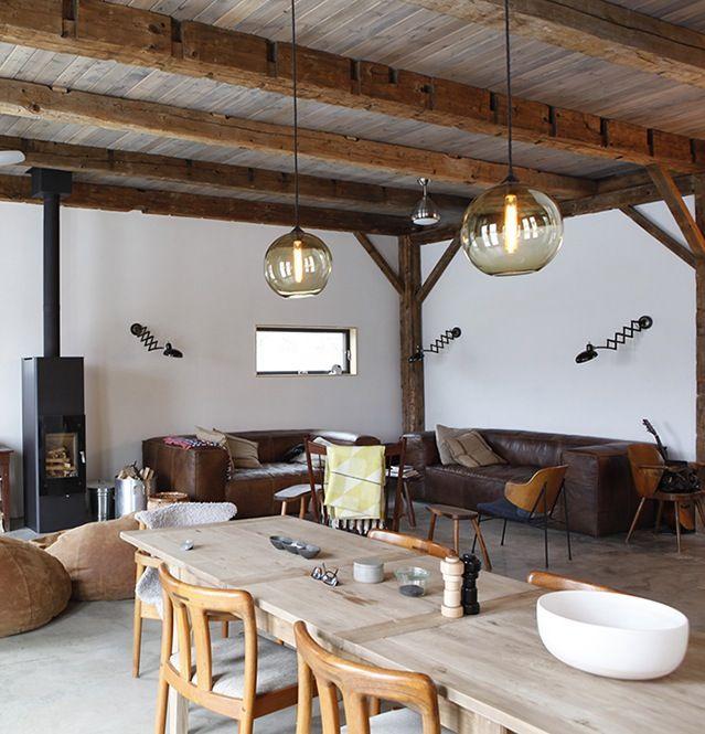 Bovina House   Modern   Living Room   New York   Kimberly Peck Architect