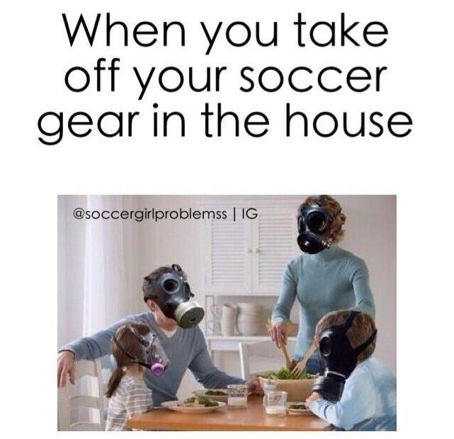 Gas masks definitely needed!