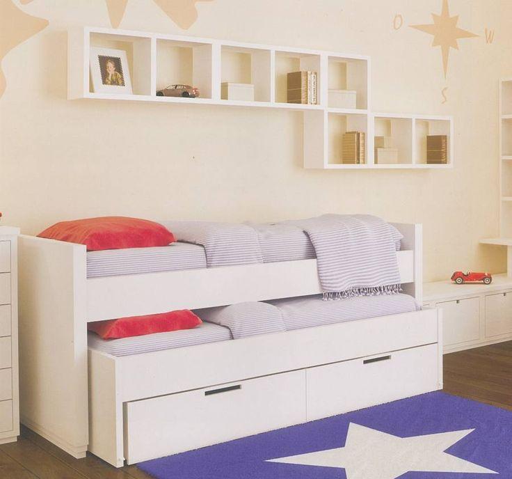 M s de 25 ideas fant sticas sobre camas literas dobles en - Cama doble para ninos ...