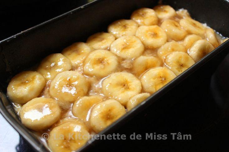 Gâteau à la banane vietnamien 3 La Kitchenette de Miss Tâm