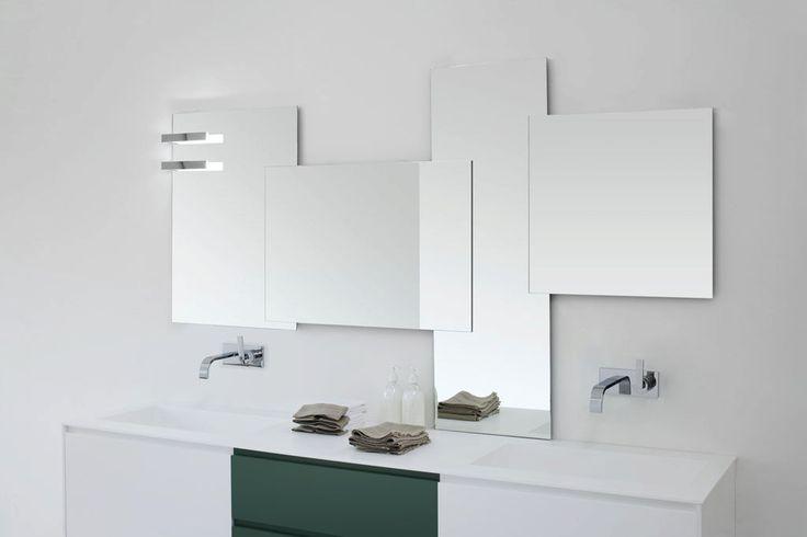 38 migliori immagini specchi bagno su pinterest bagni for Conforama specchi