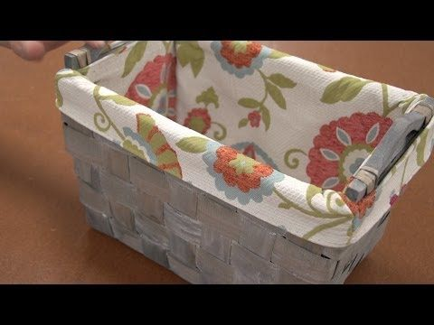 She Makes An Ordinary Basket Look Extraordinary With Cute Basket Liners (Easy!) - DIY Joy