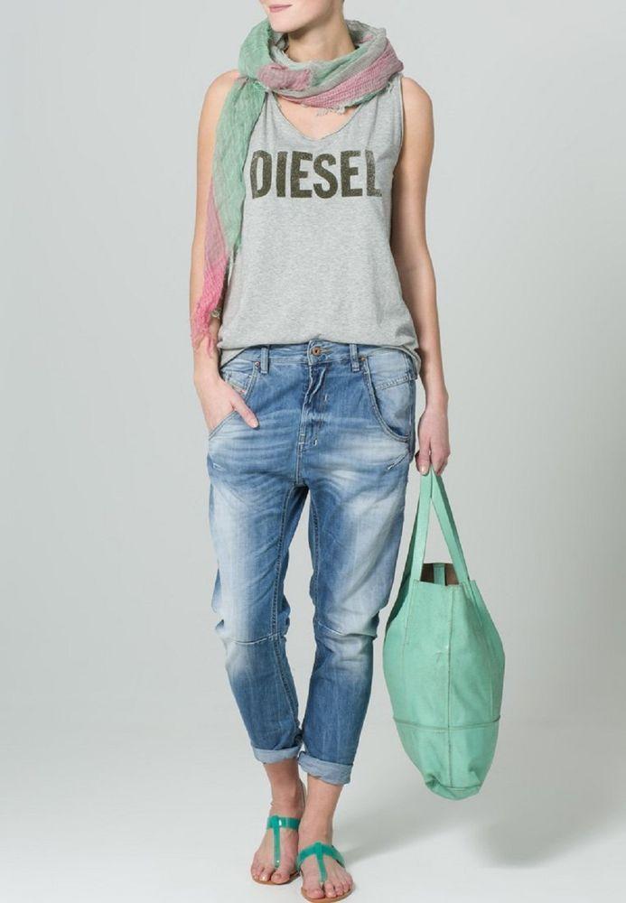 Womens Diesel Jeans Fayza 0826D Relaxed Boyfriend Low Waist W27