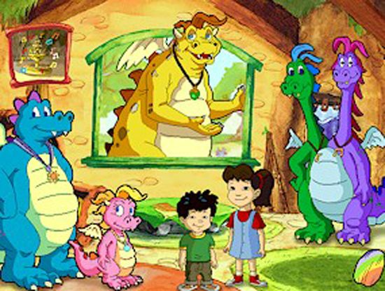 Dragon Tales-- i used to love this show :)