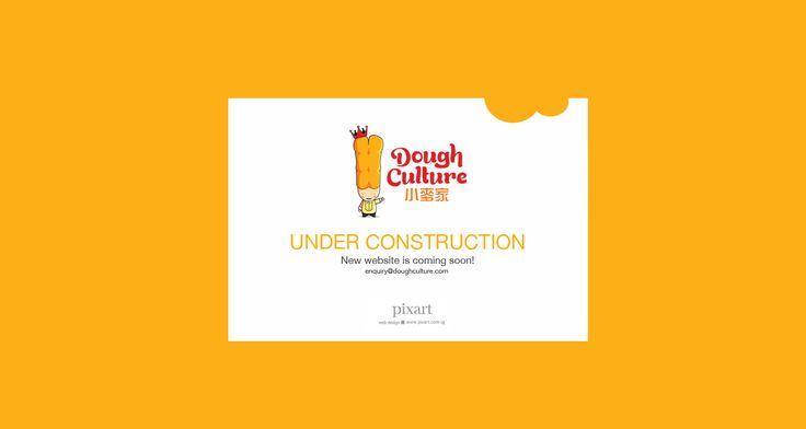 #cute #underconstruction website design. http://www.doughculture.com.sg/ by…