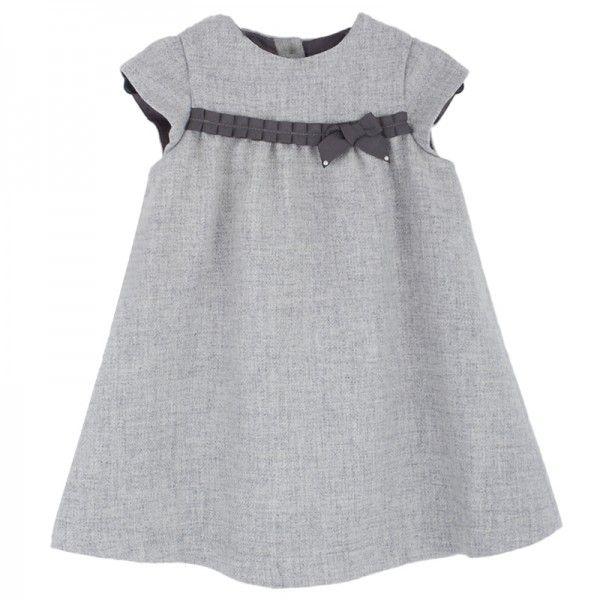 Tartine et Chocolat Grey Tweed Dress at alexandalexa.com