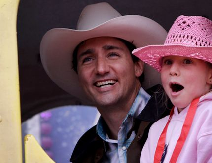 #CANADA #CLIMATE #SWD #GREEN2STAY PM mum on cost of carbon pricing FIRST POSTED: WEDNESDAY, JULY 20, 2016 06:46 PM EDT Justin Trudeau Prime Minister Justin Trudeau enjoys a ride with daughter Ella-Grace at the Calgary Stampede in Calgary on July 15, 2016. (Leah Hennel/  Prime Minister Justin Trudeau should have explained his carbon pricing scheme during