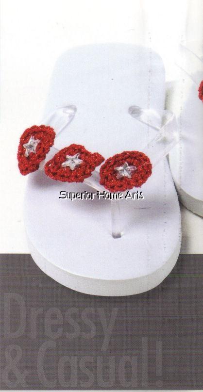 17 best Crochet Flip Flop Patterns images on Pinterest | Crochet ...
