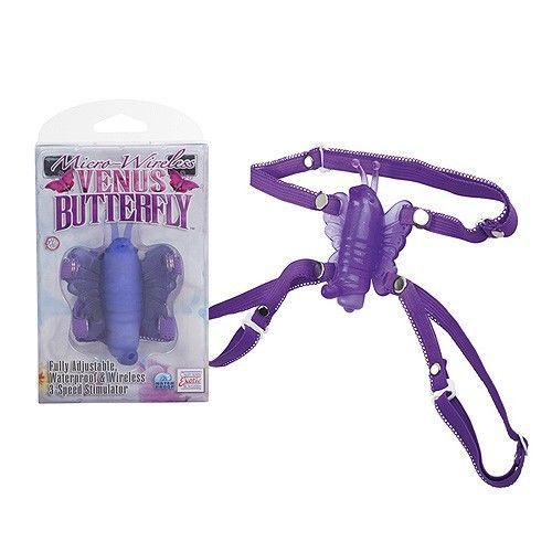 Micro-Wireless Venus Butterfly Stimulator Adjustable Clit Teaser Sex Toy For Her #BoundtoPlease