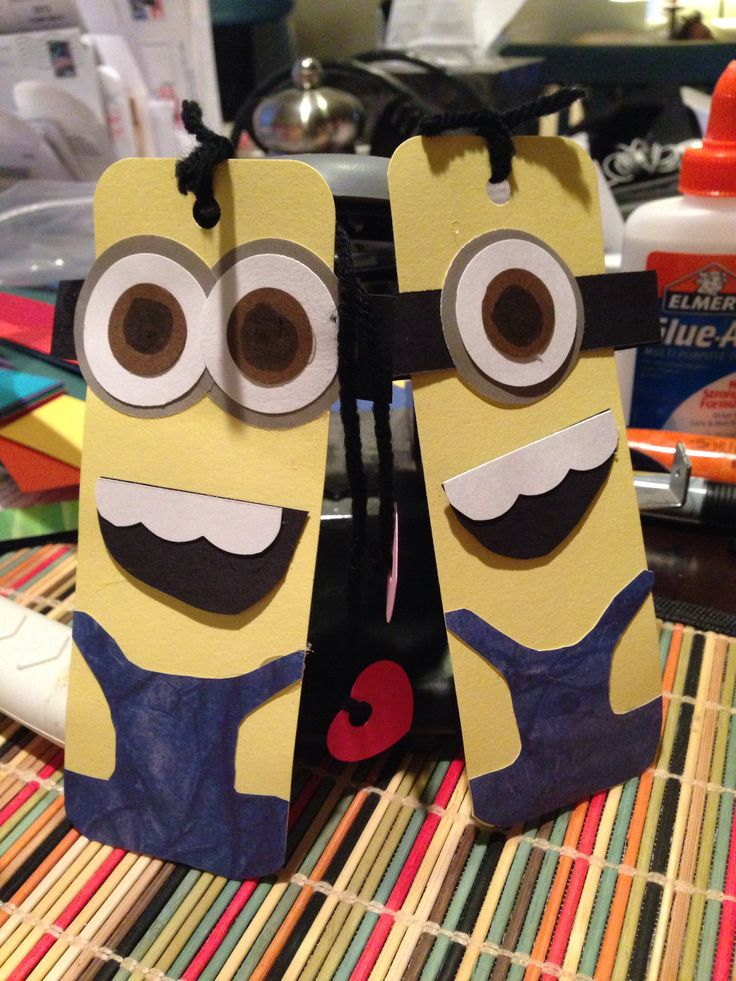 Minion bookmarkers