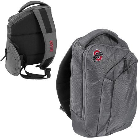 Logo Ncaa Ohio State Game Changer Sling Backpack, Gray