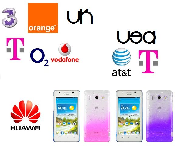 If You Have a Huawei Device Locked to AT&T or T-Mobile USA and T-Mobile/EE/Orange, 3 Hutchison, O2 or Vodafone UK.