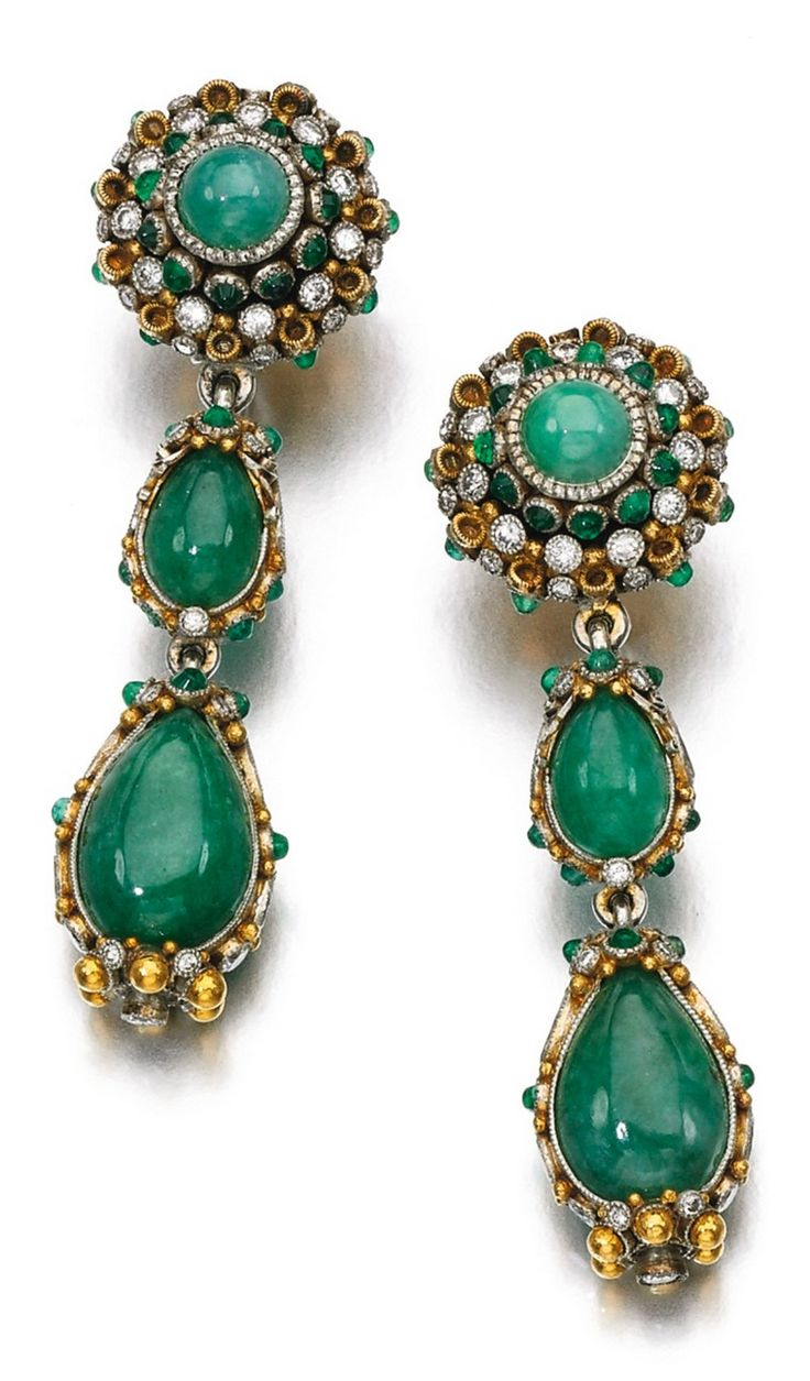isidore crystal bijou flower br products studs green earrings vintage