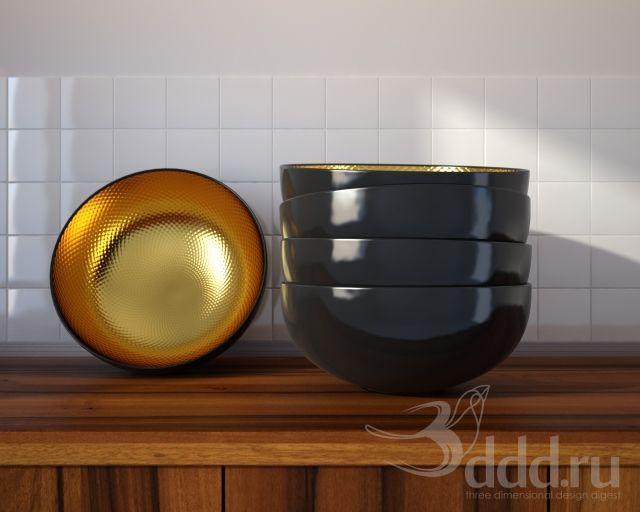 """PROFI"" Ikea / Angenam 3dsMax 2012 + obj (Vray) : Посуда : Файлы : 3D модели, уроки, текстуры, 3d max, Vray"