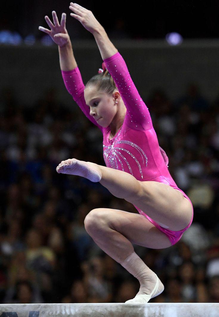 Womens gymnastics butt shots — photo 5