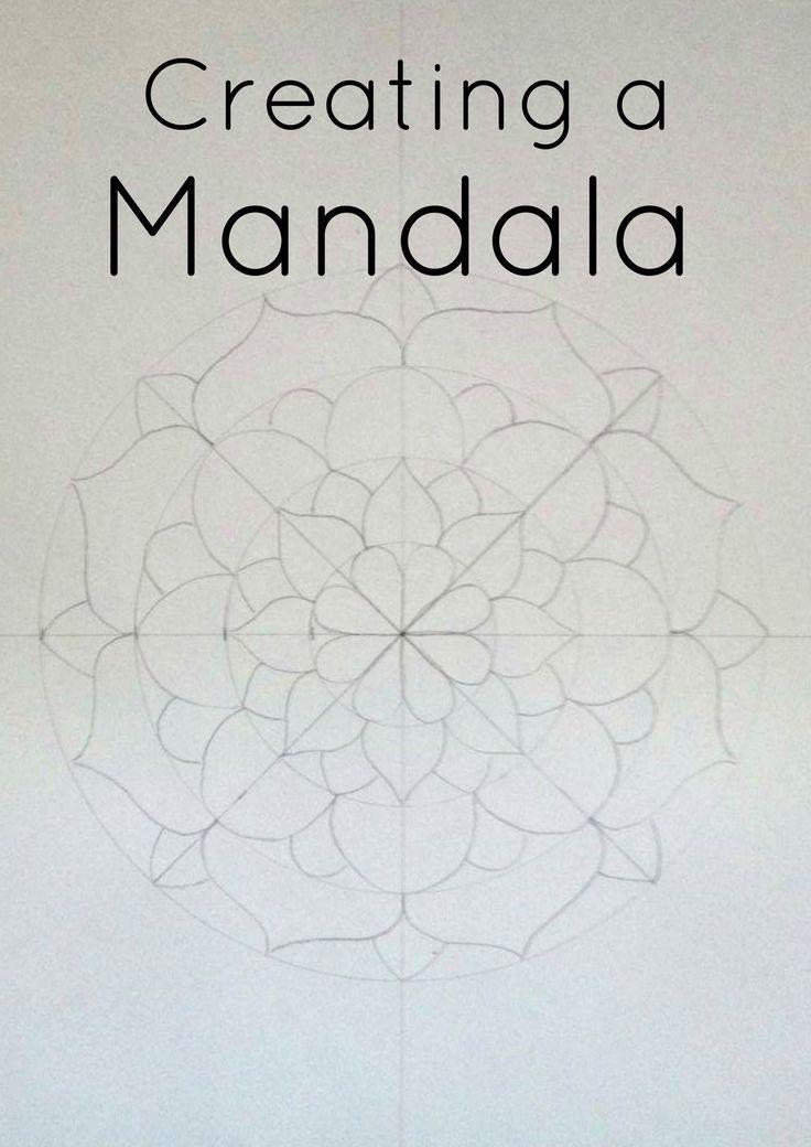 Como crear tu propia mandala