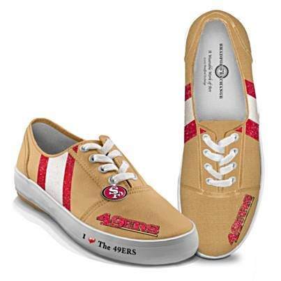 49er shoes. Must order these TODAY!