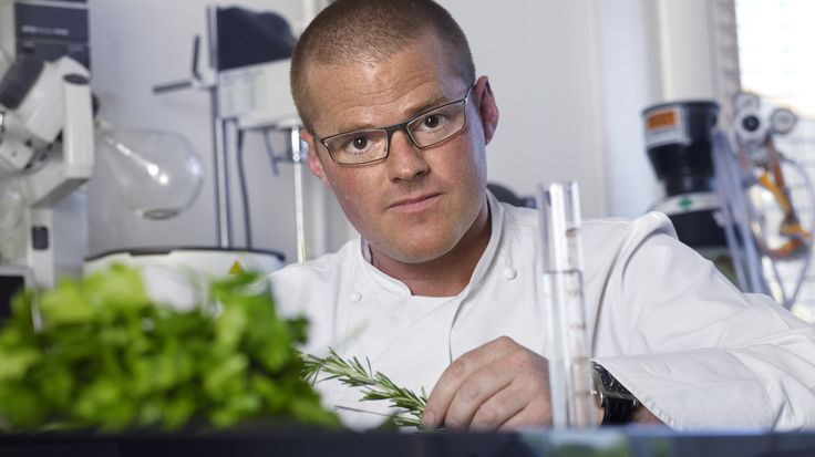 """Heston Blumenthal - Celebrity Chef, owner of the 3 Michelin Star """"The Fat Duck Restaurant""""."""