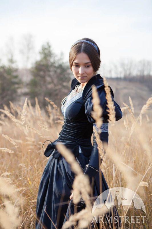 "Trimmed Dress and Vest Costume ""Lost Princess"""