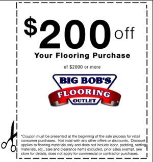 Flooring Sales | Big Bob's Carpet Outlet | Harrisburg, Lancaster PA