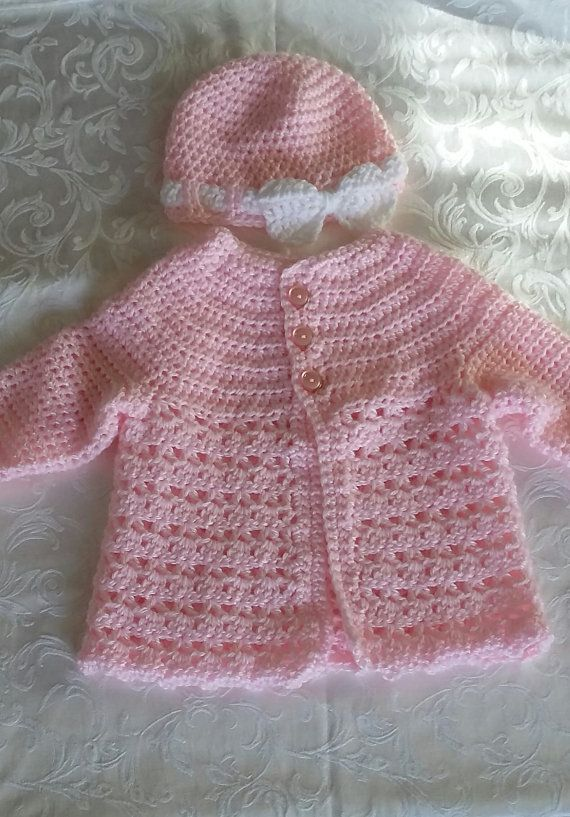 Sweater and Hat Set by GrammisGiftsBoutique on Etsy