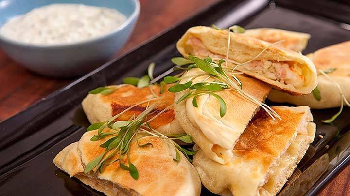 Garnalen en Bacon Rou Bing - Recipe from Everyday Gourmet with Justine Schofield