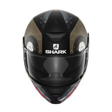 Casco Shark D-Skwal Saurus Black/Green/Anthracite Mat HE4017EKGA.