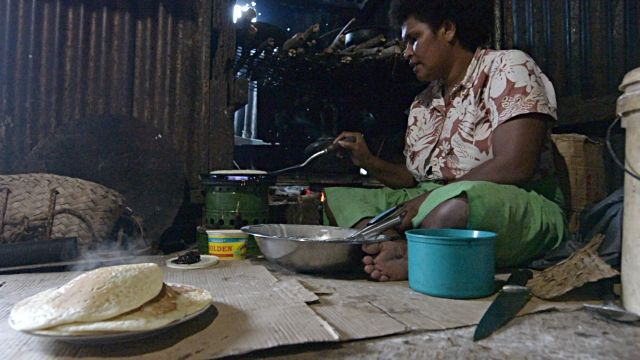 Fijians obey religious prohibitions against beef (Hindus) or pork (Muslims). As with Fijians, most cooking is done by women.