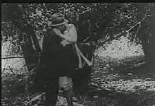 File:A Free Ride (1915) a stag film of the silent era that is considered to be the earliest extant American hardcore pornographic movie. It depicts a motorist who picks up two women from the roadside and later engages in several sex acts with them.