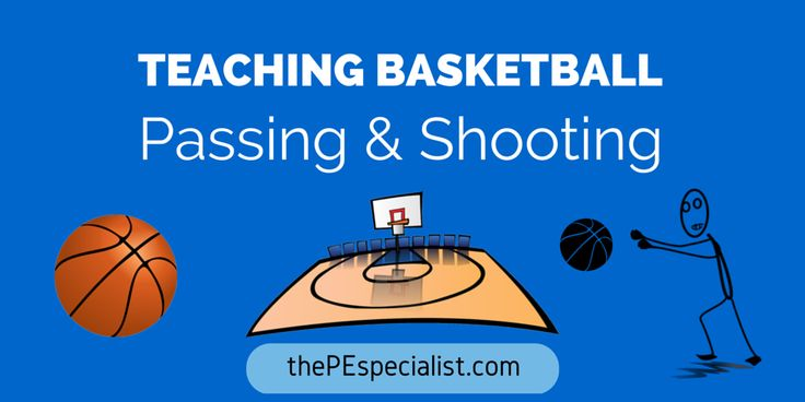 Teaching Basketball – Passing and Shooting.  Some great tips on teaching basketball in Elementary PE class.  Physical Education Resource.