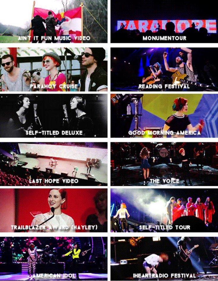 Paramore 2014 Highlights!