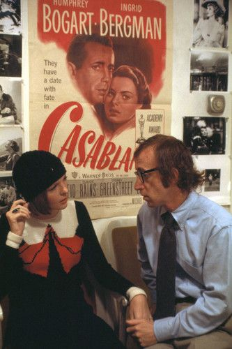 Diane Keaton and Woody Allen in Play It Again, Sam (1972), adapted from Woody's play and directed by Herbert Ross