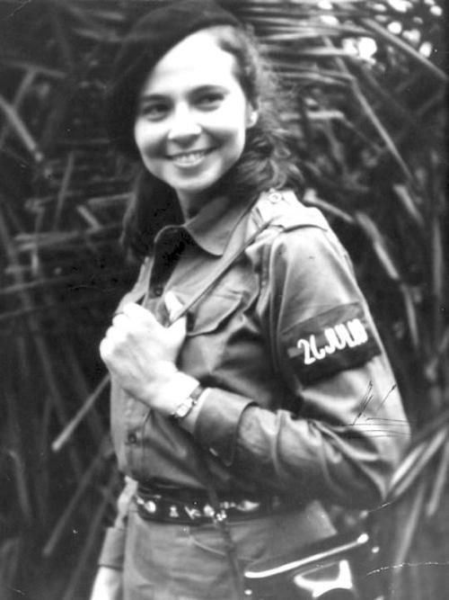 Vilma Espín was a leader in the Cuban revolution and in the women's movement in Cuba. She was part of the July 26 Movement that overthrew the Batista dictatorship in 1959.