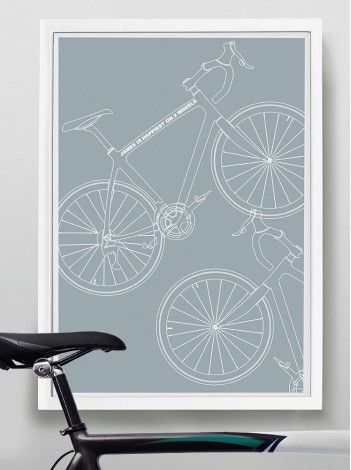 Cyco - Our personalised print for the cyclists among you.