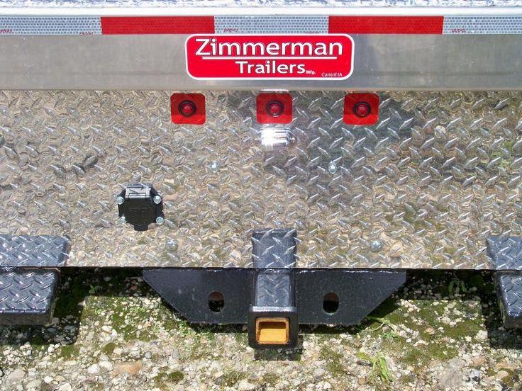 "84""x102"" Zimmerman alum Truck Bed Trailer & Truck"