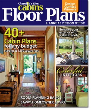 check out our annual newsstand special floor plans design guide including our design log cabin