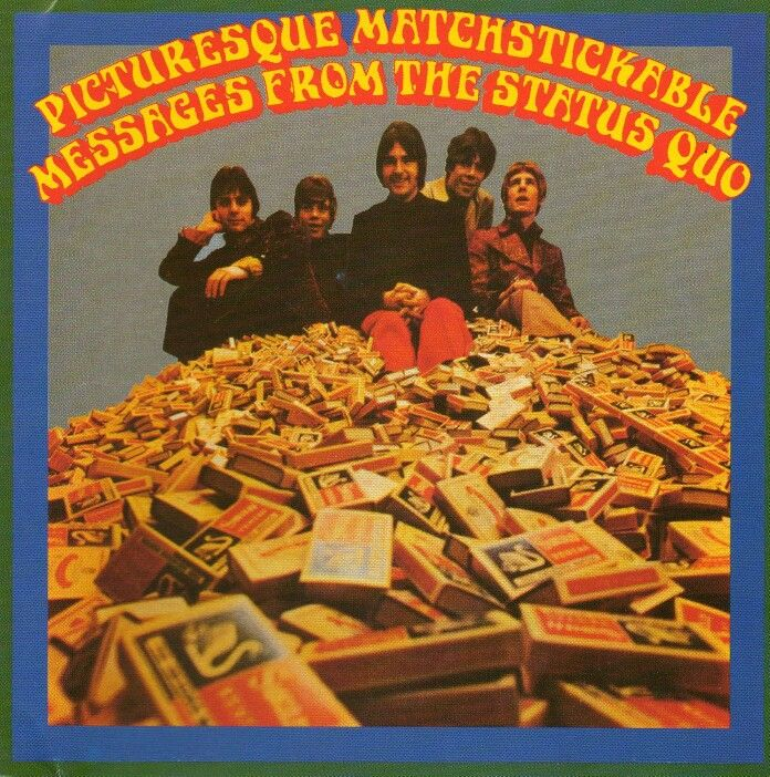 Staus Quo - Picturesque Matchstickable Messages From The Status Quo (1967)