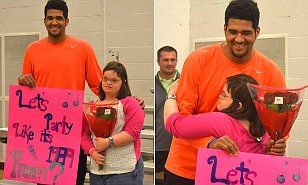 Kentucky basketball star Trey Moses asks 'best friend' with Down syndrome to prom | Daily Mail Online