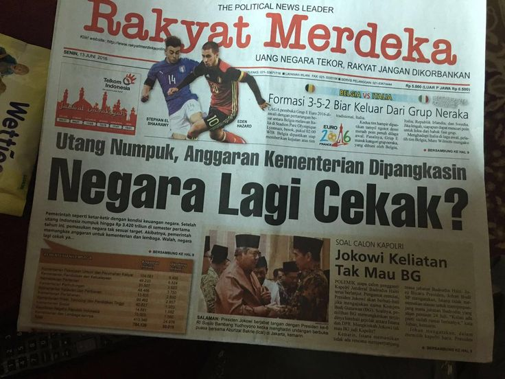 "Muhammad H Thamrin on Twitter: ""Negara cekak, utang tambah lagi? #JokowiGagalAnggaran https://t.co/1L0qU8o7Q7"""