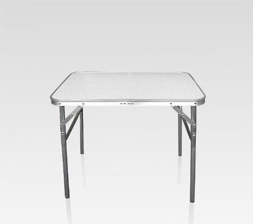 Alu Tisch, Klapptisch / Campingtisch, Reise Tisch, ALU, klappbar / 75x55x60cm, BE-44756