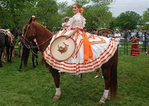 Mexican Cowgirl!