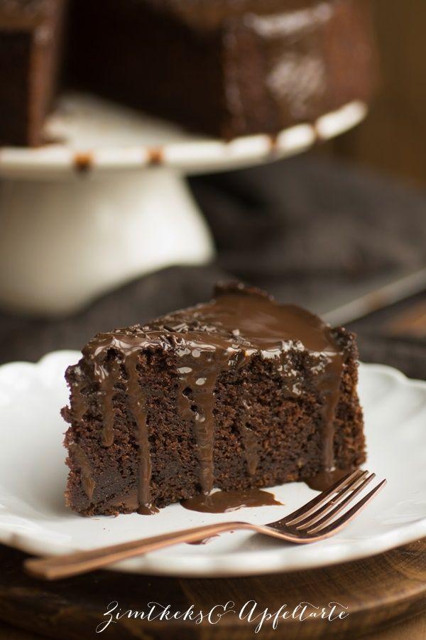 Super saftiger Schokoladenkuchen mit Tonkabohne  - leckeres, schnelles und einfaches Rezept für jede Gelegenheit und alle Schokoholics