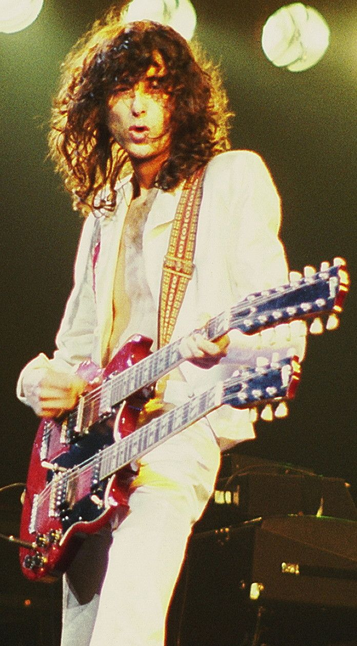 Jimmy Page  one of the best guitar players ever
