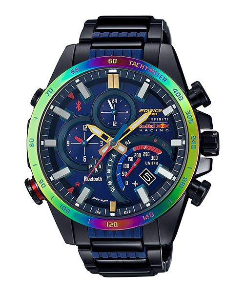 Edifice EQB-500RBB-2A model for Infiniti Red Bull Racing team.