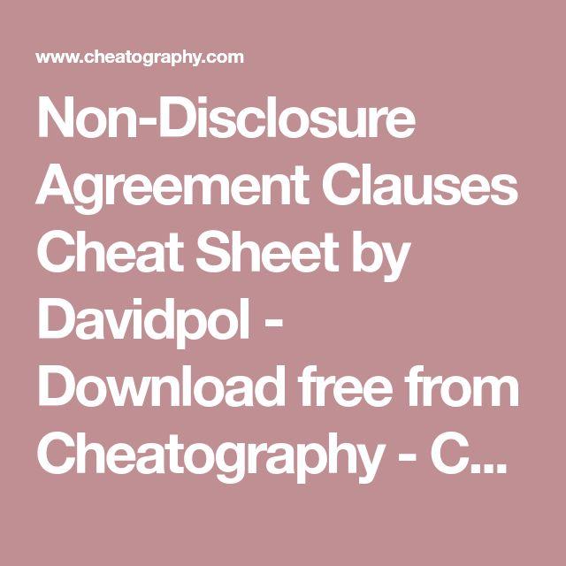 Cele mai bune 25+ de idei despre Non disclosure agreement pe Pinterest - linking agreement template