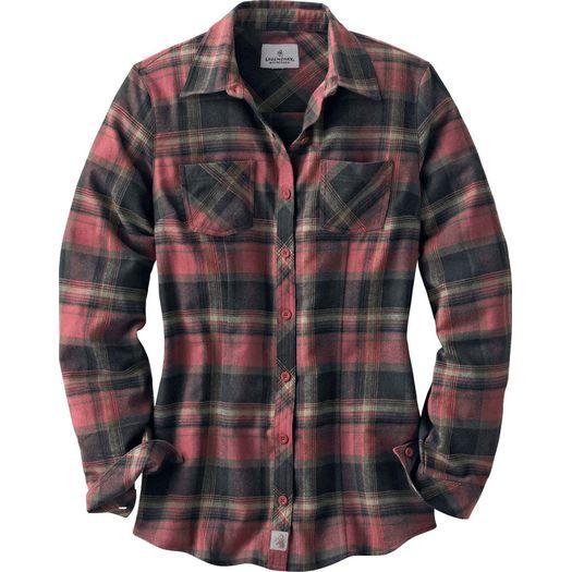 Women's Cabin Retreat Plaid Flannel Shirt at Legendary Whitetails