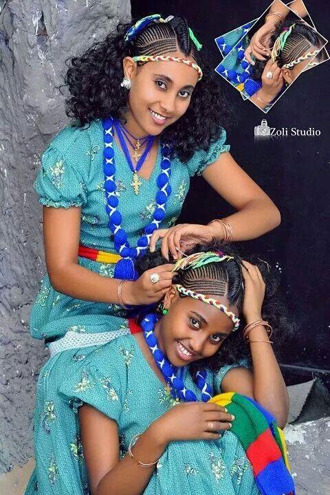 Beauty 💗 Black Magic Ethiopian Braids Ethiopian Hair